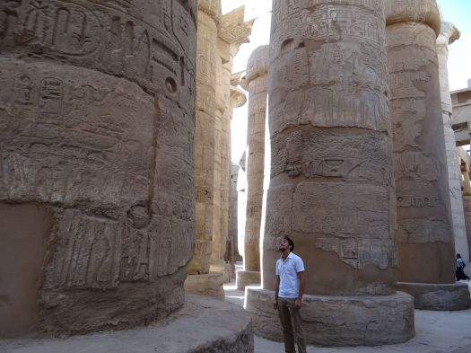 Karnak Temple and I