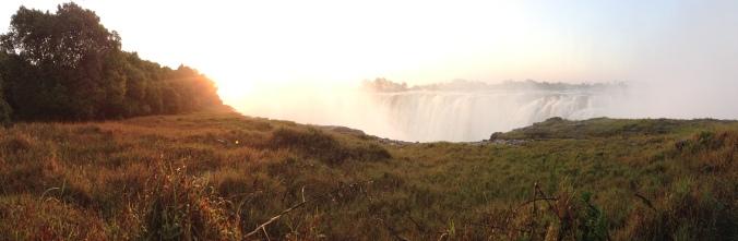 Panorama of Victoria Falls